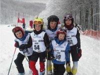 Giovani sciatori