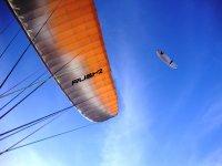 L'ala del parapendio
