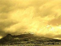 Il Vesuvio un po' di tempo fa