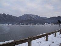 Lago Laceno innevato