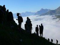 Trekking sopra le nuvole
