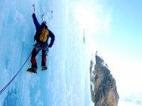 Climbing sul ghiaccio