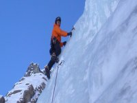 Scalare il ghiaccio
