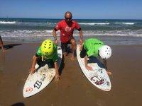 Lezioni di surf per bambini