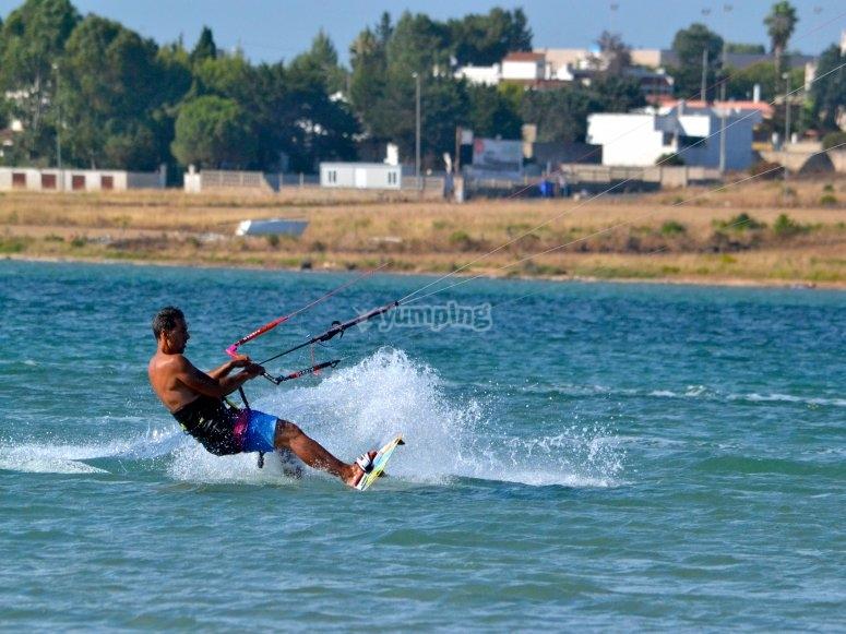 kitesurf lecce lido denise