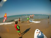 Pronti all'avventura in paddle surf