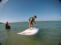 Mini paddle surfista!