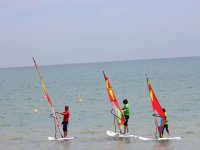 I nostri piccoli allievi di windsurf