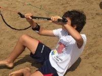 Prendendo confidenza con il kite