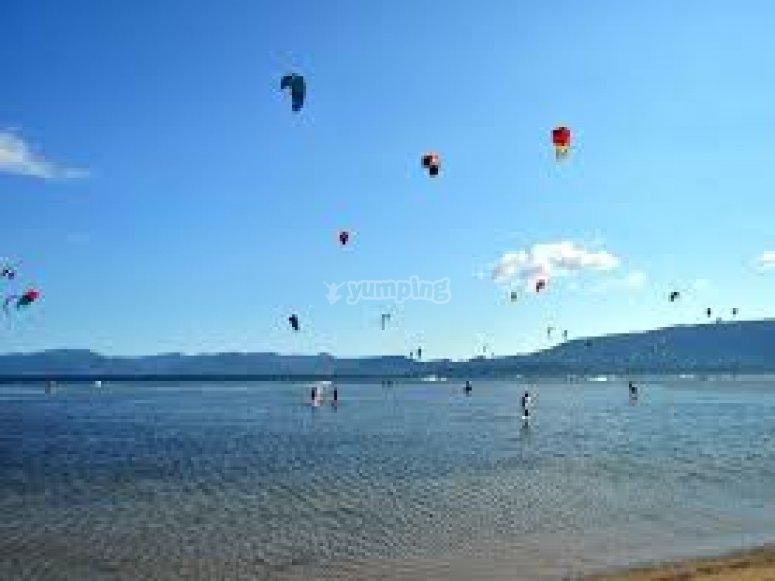 kite in volo