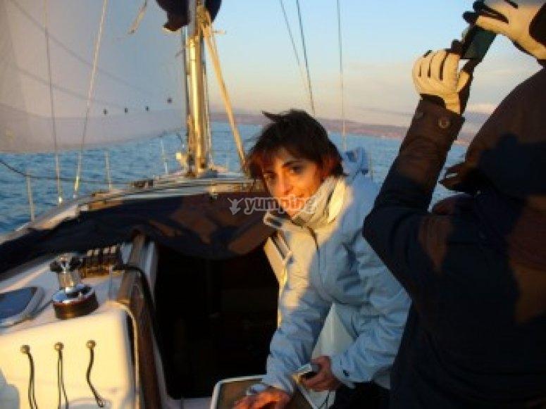 Scuola di vela su navigati