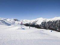 La pista di snowboard