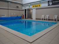 The swimming pool for training