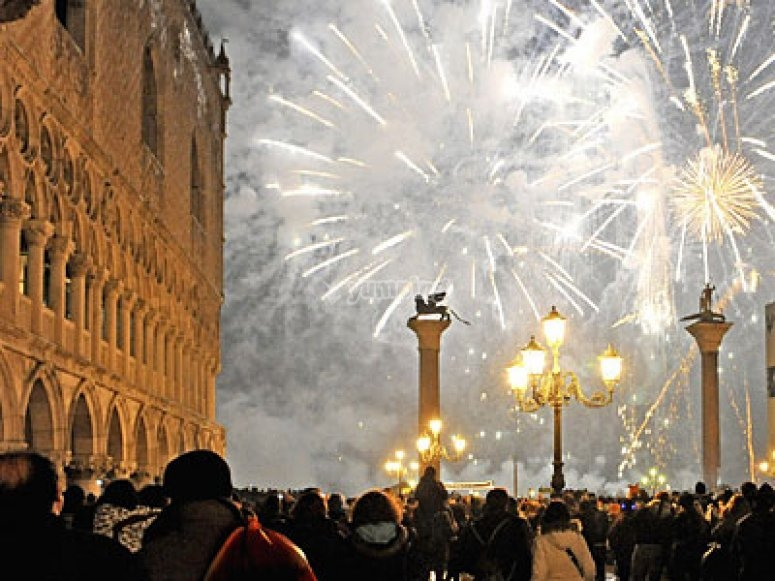 Piazza San Marco a capodanno