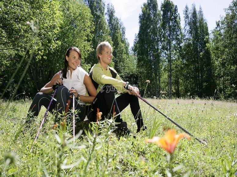 Corsi di Nordic Walking base e perfezionamento