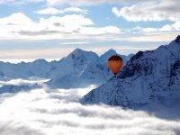 bellezza dei monti innevati