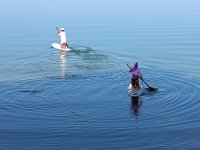 Imparando le basi del Paddle Surf