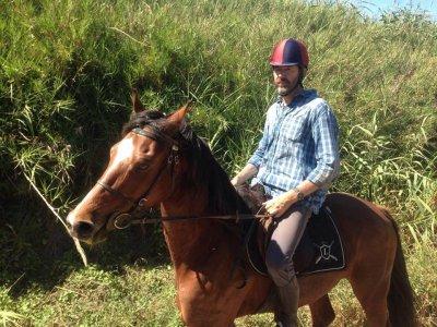 Escursione a cavallo di un'ora vicino Roma