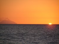 The sunset seen from Hang Loose Beach