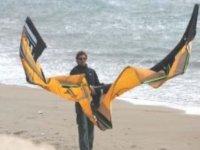 Kite in spiaggia a Marsala