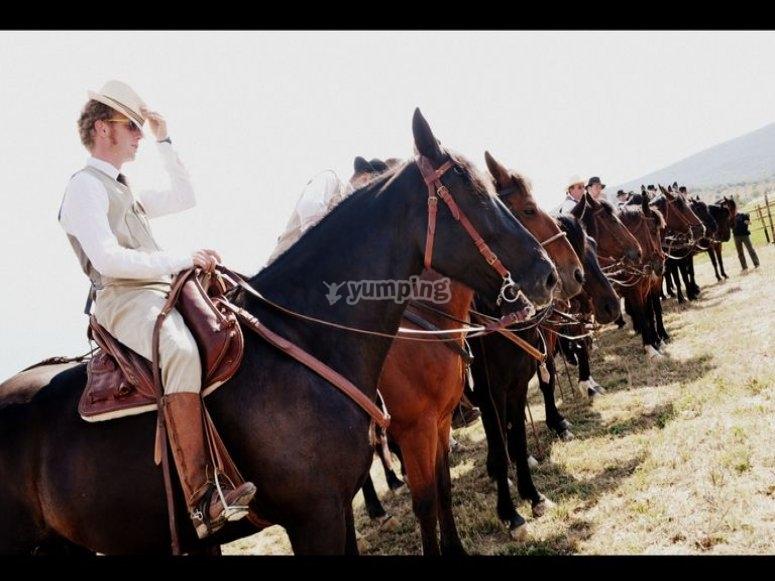 passeggiate a cavallo maremma toscana