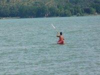Canoa al lago