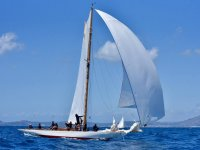 In sailing boat