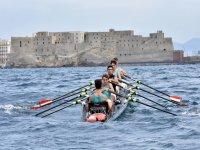 Regatta in canoe to Napoli