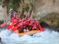 Fun guaranteed in the rapids of the Lao