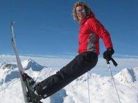 Sulla neve con una guida alpina