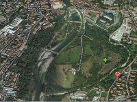 Vista aerea di uno dei nostri campi