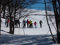 Snowshoeing at the Grange della Rho - Bardonecchia