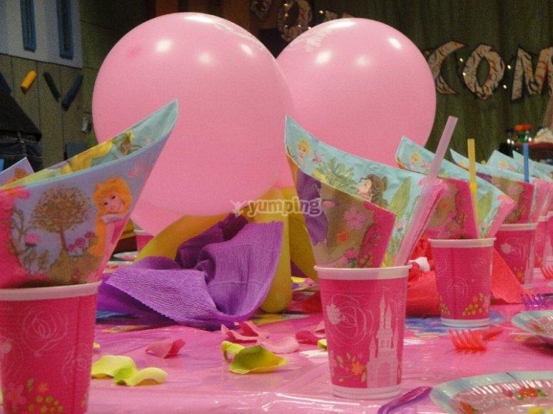 Festa in costume principesse