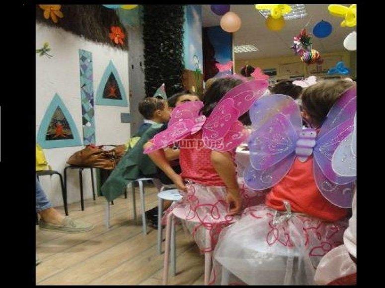 festa in maschera per fatine