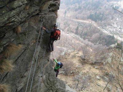 Montagna Biellese Via Ferrata