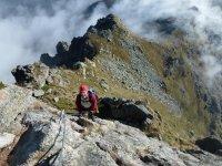 In cima al monte mucrone