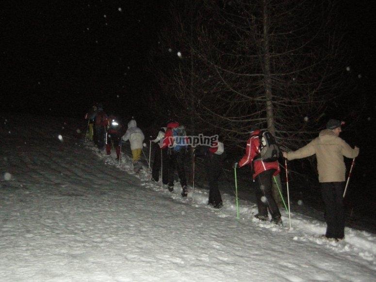 Salita in Valle Stretta