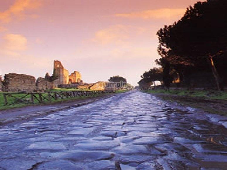 Lungo la Via Appia Antica