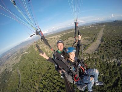 Volo planato in Parapendio biposto in Sardegna