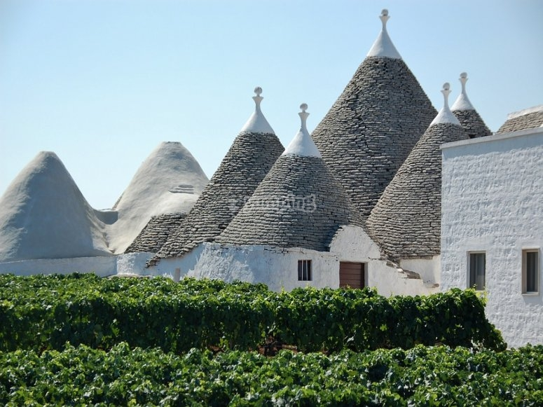 I tetti dei trulli