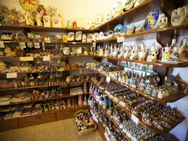 Enoteca e prodotti tipici