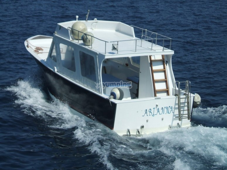 excursions aboard Arianna