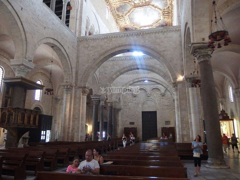 Allinterno della Cattedrale