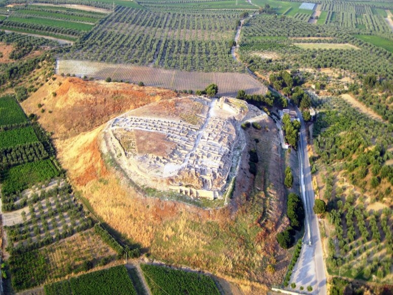 La zona archeologica