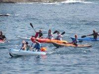 gita in canoa