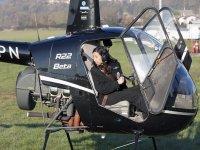 Volo in elicottero a Bergamo