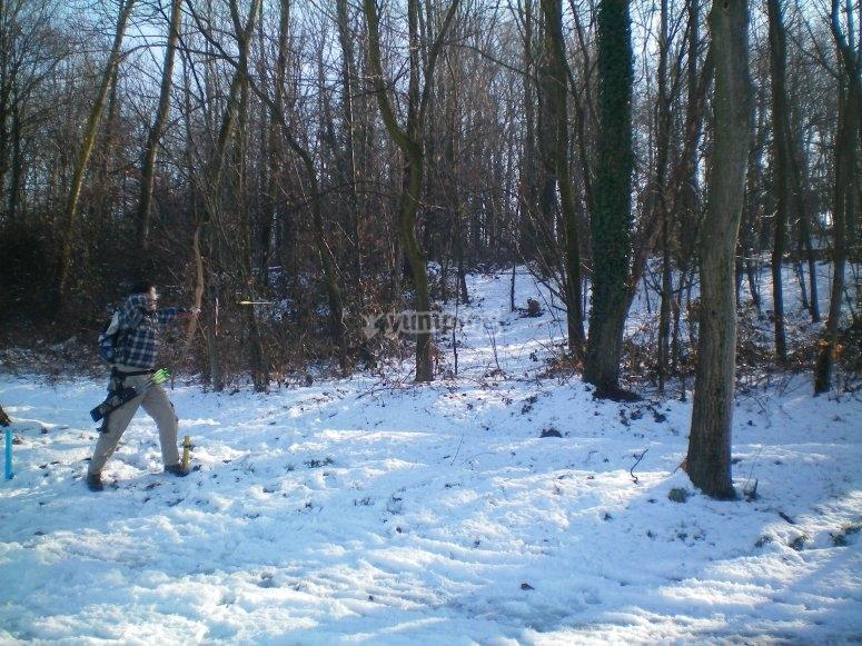 Corso sulla neve