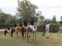 Allievi a cavallo