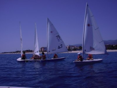 Weekly sailing course 12-14 years with stay