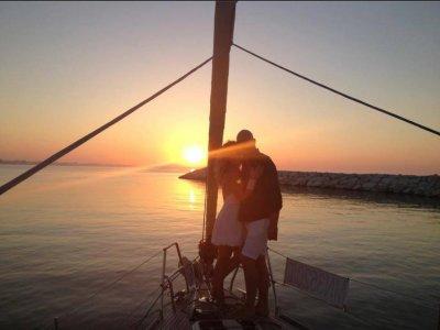 Cena in barca per 2 sulla Riviera Romagnola 4ore